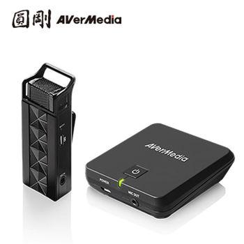 AVerMedia 圓剛 AW313 2.4GHz教學用無線穿戴式麥克風 領夾式行動教學機