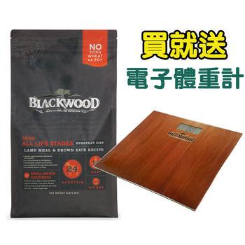 【BlackWood】柏萊富 特調全齡犬(羊肉+糙米+雞肉)30磅 X 1包 送電子體重計
