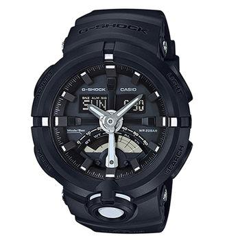 CASIO 卡西歐 G-SHOCK 公路車齒輪概念設計腕錶/48.9mm/GA-500-1A
