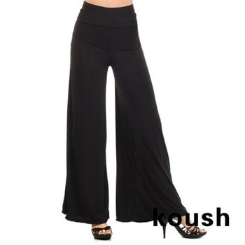 【Kuosh】美國進口優雅寬版長褲(NW-6051)