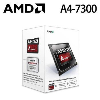 【AMD】APU FM2 A4-7300 3.8GHz/雙核心/HD8470D CPU處理器