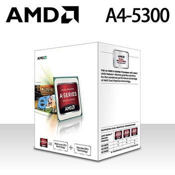 【AMD】FM2 APU A4-5300/3.4GHz/雙核心/HD7480D CPU處理器 全新盒裝