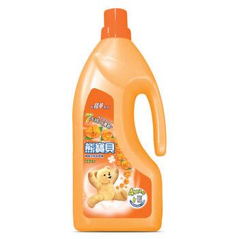 熊寶貝 絢麗甜香衣物柔軟精(1.8L)