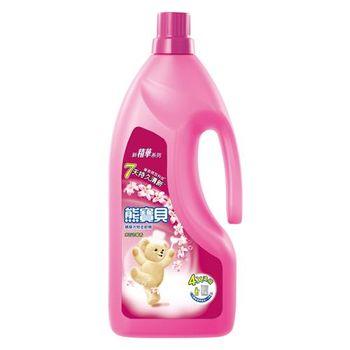 熊寶貝 水百合馨香衣物柔軟精(1.8L)