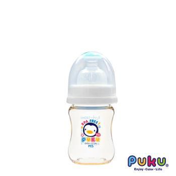 PUKU藍色企鵝 - 實感寬口PES奶瓶-140ml