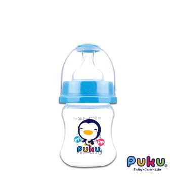 PUKU藍色企鵝 - 寬口PP奶瓶140cc(水色)