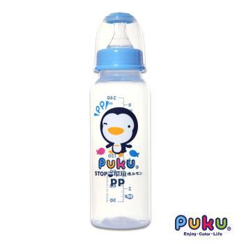 PUKU藍色企鵝 - 標準PP奶瓶240cc(水色)