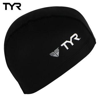 美國TYR 成人用萊卡彈性防水泳帽 Lycra PU Coating Swim Cap