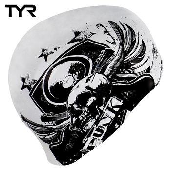 美國TYR 成人用雙面矽膠泳帽 Swim Punk Reversible Cap 台灣總代理