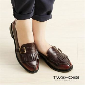 【TOMO】英倫復古學院風紳士牛津鞋【K160B2615】