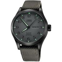 Oris Air Racing Edition 飛行賽 機械腕錶 ^#45 灰 ^#47
