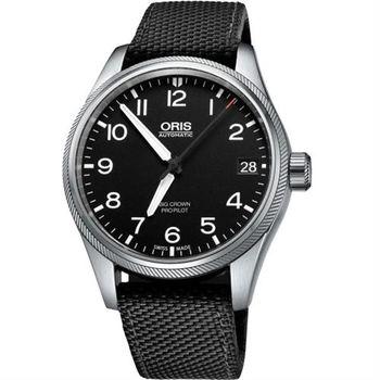 Oris Big Crown ProPilot 日期顯示機械腕錶-黑/41mm 0175176974164-0752015FC