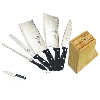 【易麗特】料理刀具七件組