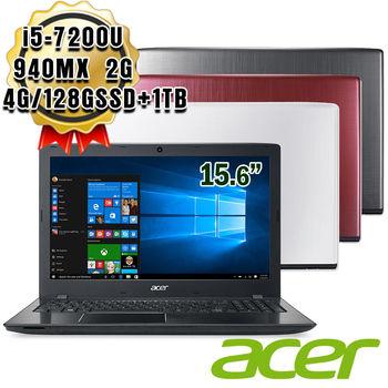 ACER 宏碁 E5-575G 15.6吋 i5-7200U 獨顯GT 940MX 2G 1TB+128G SSD超效能筆電