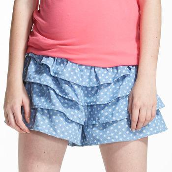 【ohoh-mini】星星情人滿版蛋糕裙孕婦褲裙