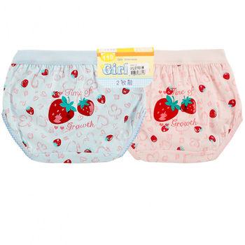 LOVIN BABY 一王美台灣製草莓OP女童褲12件組(隨機取色)-3449