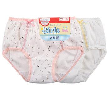 LOVIN BABY 一王美台灣製蕾絲兔子女童褲-6件組-3243
