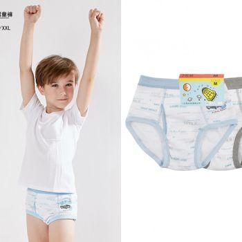 LOVIN BABY 台灣製一王美舒適男童小汽車三角褲~6件-3579