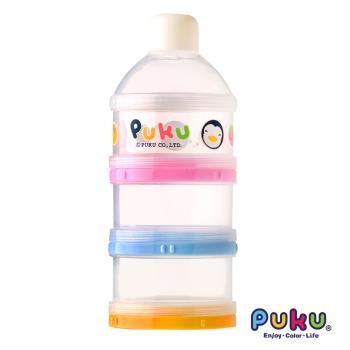 PUKU藍色企鵝 - 彩色三層奶粉盒