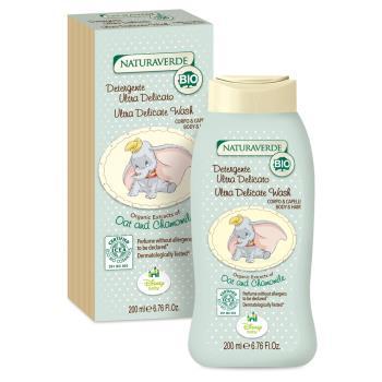 【義大利進口 Disney】Dumbo洗髮沐浴乳-200ml