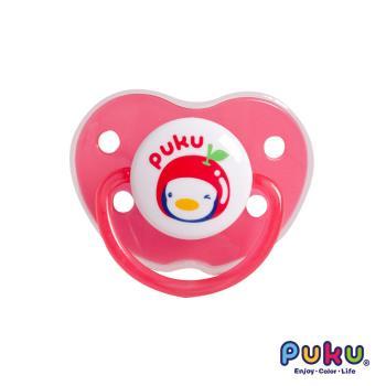 PUKU藍色企鵝 - 水果拇指型較大安撫奶嘴(粉色)