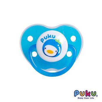 PUKU藍色企鵝 - 水果拇指型較大安撫奶嘴(藍色)