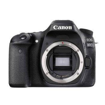 【Canon】EOS 80D 單機身組(公司貨)-@