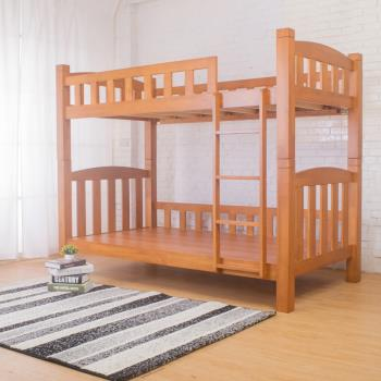Bernice-安德魯3.8尺單人實木雙層床架