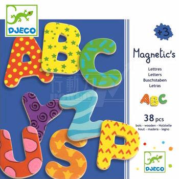 法國《DJECO-智荷》磁鐵拼圖-英文字母