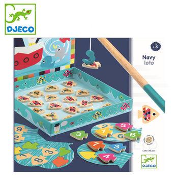 法國《DJECO-智荷》主題遊戲(認知學習)-老船長釣魚