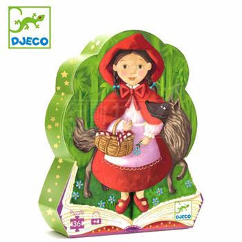 法國《DJECO-智荷》拼圖屋-小紅帽(36片)