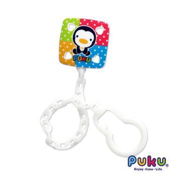 PUKU藍色企鵝 - 彩虹糖奶嘴鍊