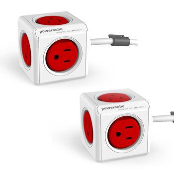 PowerCube 魔術方塊 擴充插座-延長線1.5m(2入組)
