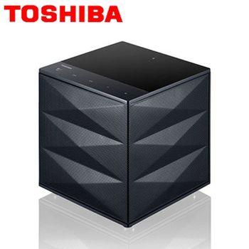 TOSHIBA  重低音藍芽喇叭 TY-WSP63TW 時尚黑