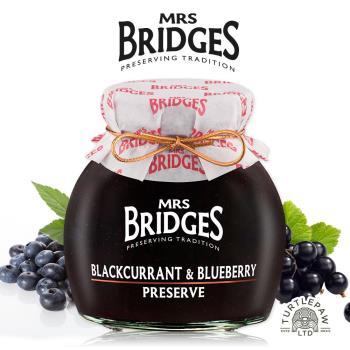 【MRS. BRIDGES】英橋夫人黑加侖藍莓果醬 (340g)