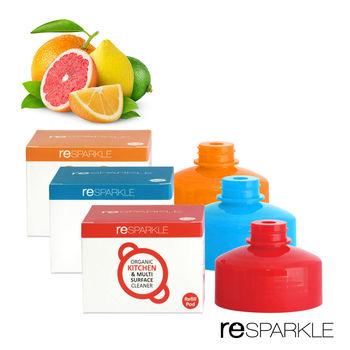 【澳洲reSPARKLE】綠思寶- 清潔劑補充蓋1入(嬰兒玩具、日常生活)(浴室、玻璃)(廚房、多功能)