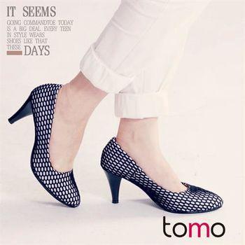 【TW Shoes】魅力首選網狀造型尖頭高跟鞋【K160D3570】