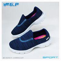 ~G.P 輕量休閒懶人鞋~P7622W ^#45 藍色 ^#47 桃紅色 ^#47 灰色