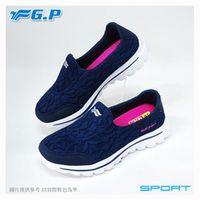 ~G.P 輕量休閒懶人鞋~P7610W ^#45 藍色 ^#47 灰色 ^#40 SIZE
