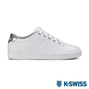 K-Swiss Court Pro II Metallic CMF經典休閒鞋-女-白/銀灰