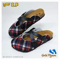~G.P 休閒 柏肯鞋~W778 ^#45 黑紅色 ^#47 咖啡色 ^#40 SIZE
