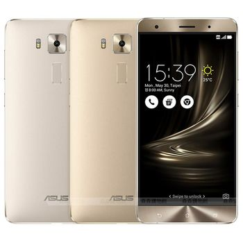 ASUS ZenFone 3 Deluxe 32G/4G 智慧手機 ZS570KL-送9H玻璃保貼+太陽能伸縮式露營燈
