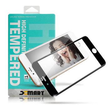 XM Apple iPhone 6 / i6 4.7吋 防碎邊滿版3D玻璃保護貼-厲害黑