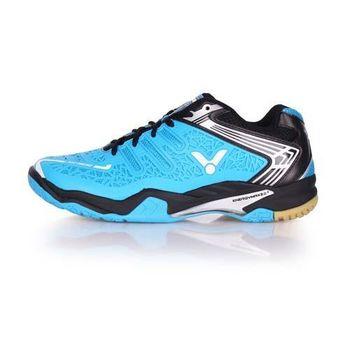 【VICTOR】SH-A830 男專業羽球鞋 - 羽毛球 勝利 水藍黑