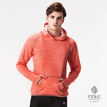 【NOYA】MIT大口袋時尚雪花磨毛超輕蓄溫保暖男連帽上衣  百分百優質MIT商品
