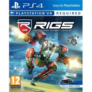 PS4 VR專用 遊戲 RIGS:機械化戰鬥聯盟-中英文合版