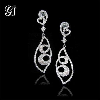 [晉佳珠寶] Gemdealler Jewellery  時尚品味18K金鑽石耳環