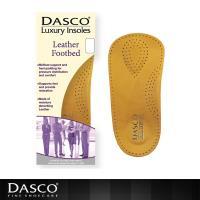~鞋之潔~英國伯爵DASCO 61081皮革足弓矯正鞋墊 支撐腳跟保護足弓 柔軟透氣
