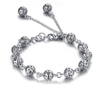【I-Shine】寵愛時光 925純銀閃亮手環(寵愛時光)