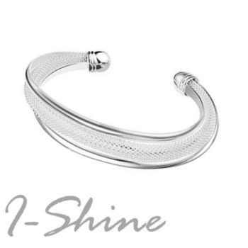 【I-Shine】都會時尚925純銀手環(都會時尚-銀)